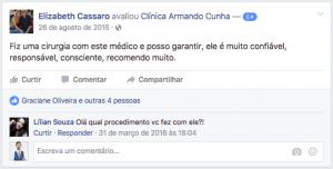 Depoimento Elizabeth Cassaro clinica de cirurgia plastica